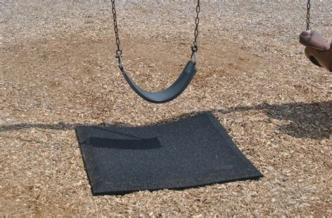 mats for under swings playground mats high quality wear mats under slides and