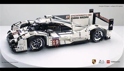 lego porsche 919 porsche 919 lmp1 lego technic lego cars