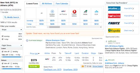 Fly Fare Calendar 605 619 Nyc To Athens Greece R T Fly Travel