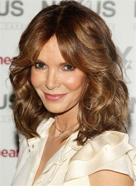 hairstyles with center part and layers sexy layered center part shoulder length hairstyles 2013