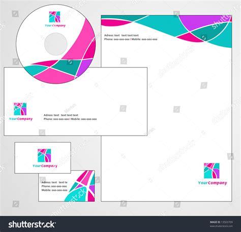 eps format letterhead designs letterhead template design vector stock vector 13503709