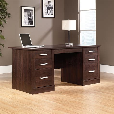 sauder executive desk office port executive desk 408289 sauder