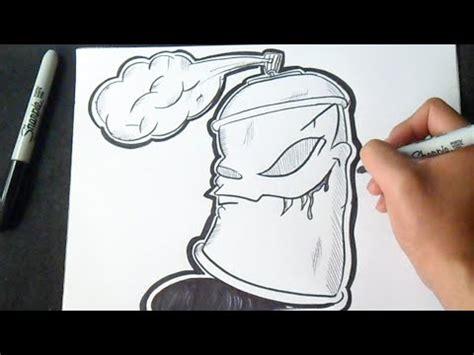 comment dessiner bombe de peinture graffiti youtube