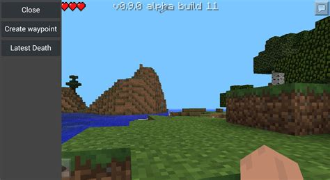 minecraft pocket edition mods android waypoints mod for mcpe 0 9 5 0 9 0 file minecraft