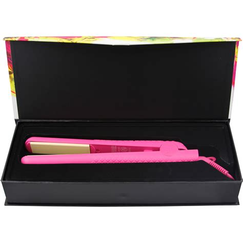 colorful seasons herstyler colorful seasons pink flat iron 1 25 ceramic
