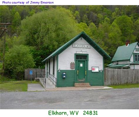 Elkhorn Post Office by West Virginia Post Offices