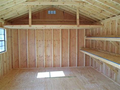 Shed Roof Types by Different Types Of Storage Shed Roofs Shed Building Plans