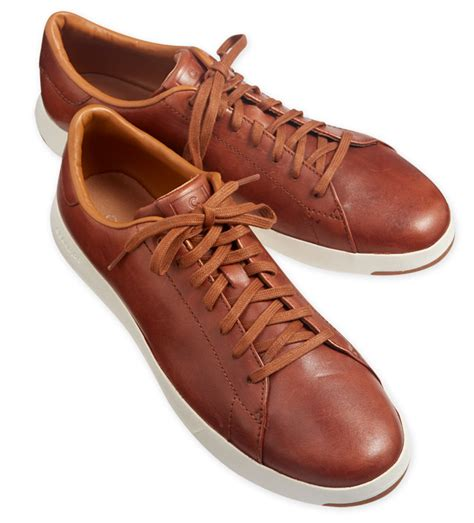 cole haan grand pro woodbury leather sneakers