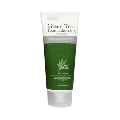 Suncare With Green Tea Theraskin Limited foam toner 3w clinic foam cleansing 100ml