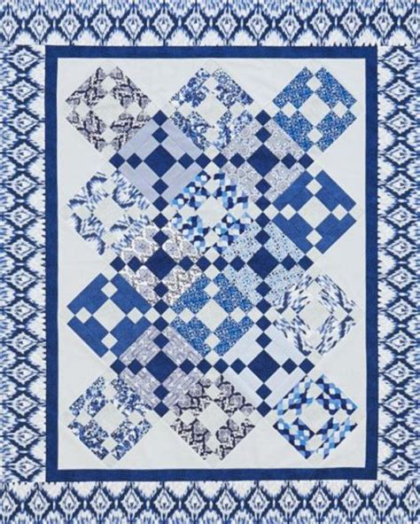 And Blue Quilt Patterns quilting color trend blue allpeoplequilt