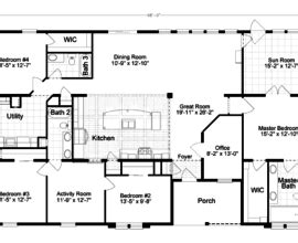 tradewinds xt or tlb home floor plan manufactured and manufactured home floor plans houses flooring picture