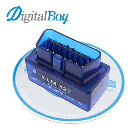 Car Diagnostic Obd2 Obdii Elm 327 V 15 Wifi Scanner Original car diagnostic scan tool obd2 obdii elm327 mini bluetooth v2 1 car diagnostic tester trip