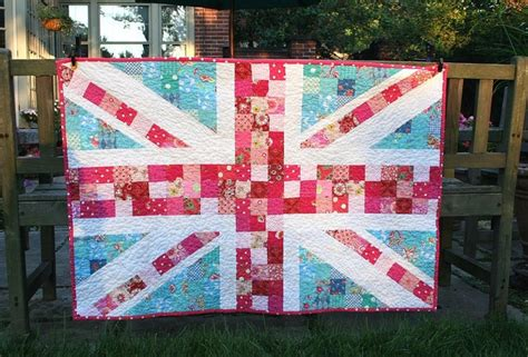Union Patchwork Quilt - i d to make something like this quilty