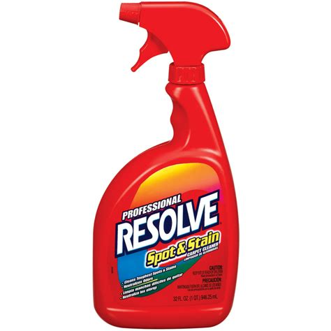 resolve rug cleaner shop resolve 32 oz carpet cleaning solution at lowes
