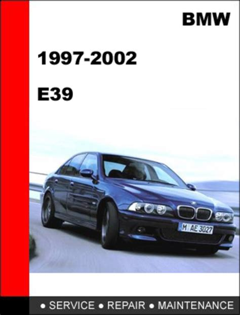 1997 2002 bmw 5 series e39 workshop repair manual download servicemanualsrepair