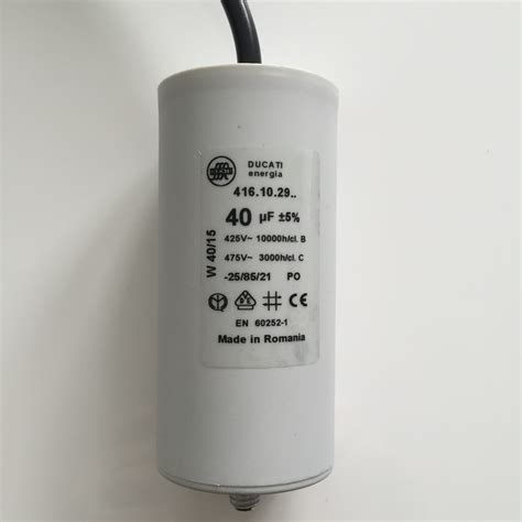 40 Uf Capacitor by Buy Motor Run Capacitors 40uf Lead Next Day Delivery