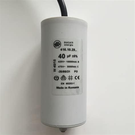 run capacitor buy buy motor run capacitors 40uf lead next day delivery