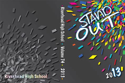 contest 2013 usa theme rhs class of 2013 yearbook cover on behance