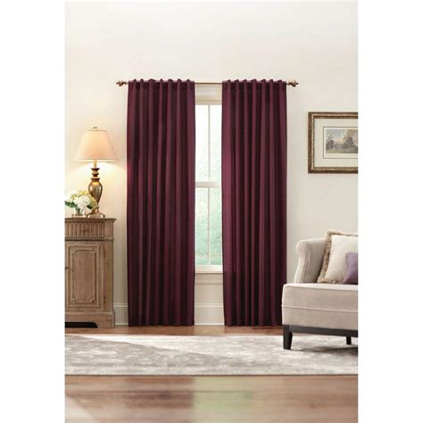 home decorators collection 48 in 84 in l 7 16 in home decorators collection plum monaco thermal foam backed