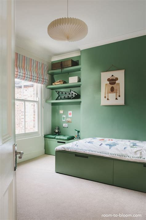 green  great   kids bedroom    simple