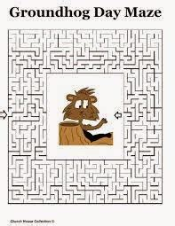 groundhog day one day groundhog day activities for preschool goundhog day mazes