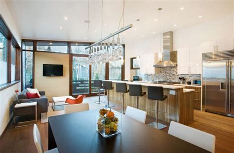 cucina e soggiorno ambiente unico arredare cucina e soggiorno unico ambiente piccolo 37