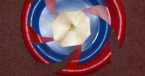 How To Make A Paper Beyblade - beyblade wall decorations i made out of paper plates from