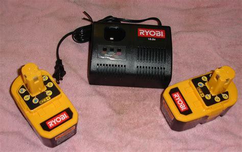ryobi 18v battery charger manual two ryobi one p100 18v batteries p110 charger new ebay