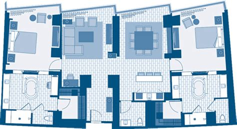 aria las vegas floor plan penthouse two bedroom sky suite aria resort casino las