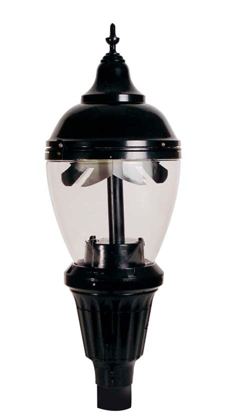 Ge Evolve Led Decorative Post Top Tops In Energy And Ge Lighting Fixtures