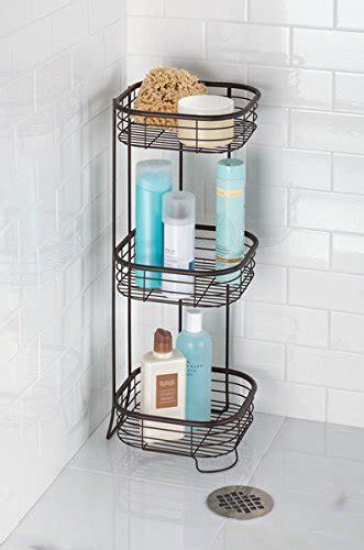 porta bagnoschiuma per doccia mdesign scaffale doccia angolare da terra portaoggetti e