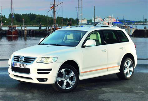 volkswagen touareg white volkswagen touareg north sails car tuning