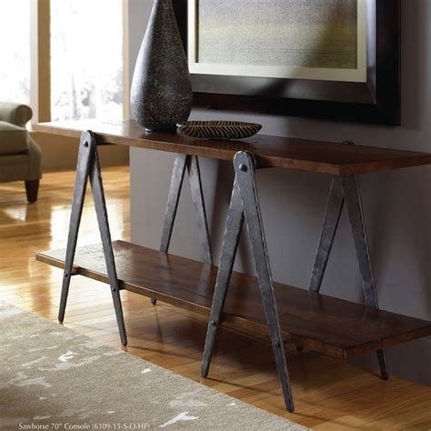 Living Room Console Table Living Room Console Table Ideas Tips Artisan Crafted Iron Furnishings And Decor
