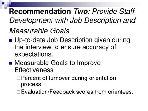 Ppt Evaluating The Hiring And Orientation Process To