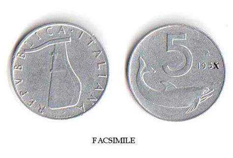cambio lira d italia le monete in lire valgono 2000