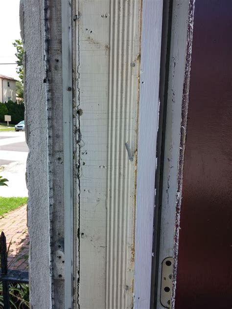 how to replace exterior door casing in house home