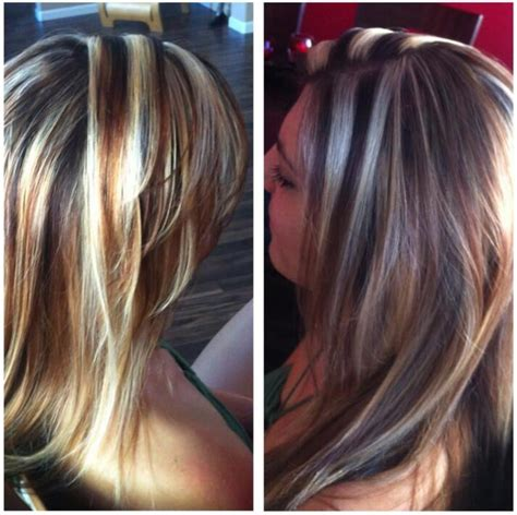 chunky hair highlights pictures 60 great brown hair with blonde highlights ideas
