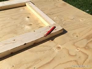 porte remise fabriquer une porte de cabanon en bois pas cher