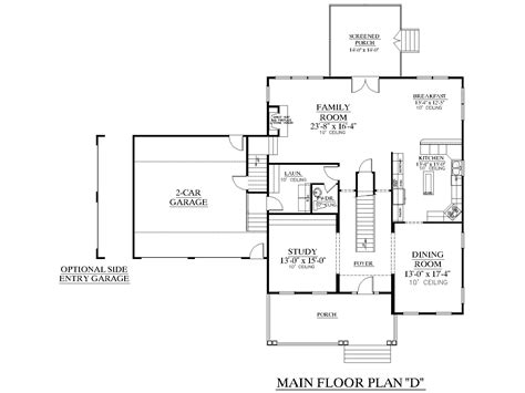 house plans with side entry garage southern heritage home designs house plan 3542 d the