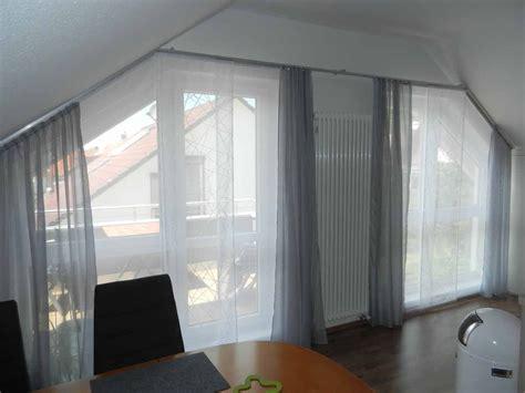 gardinenstange fur dachschrage hobby handwerk inserat fl 228 chen vorhang f 252 r dachschr 228 ge und