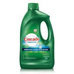 Cascade Dishwasher Cleaner Shop Products Cascade Detergent