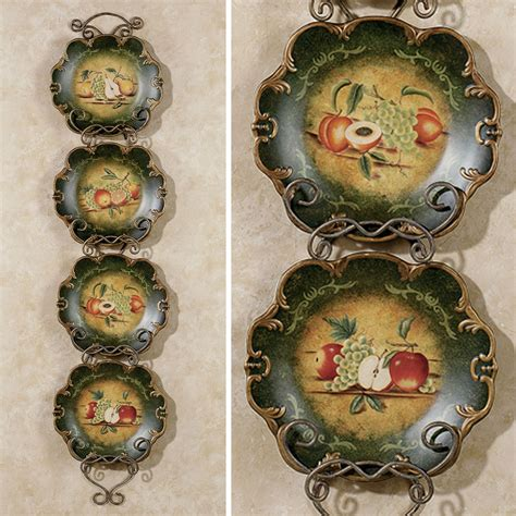 decorative plates wall abundant fruit decorative plate set