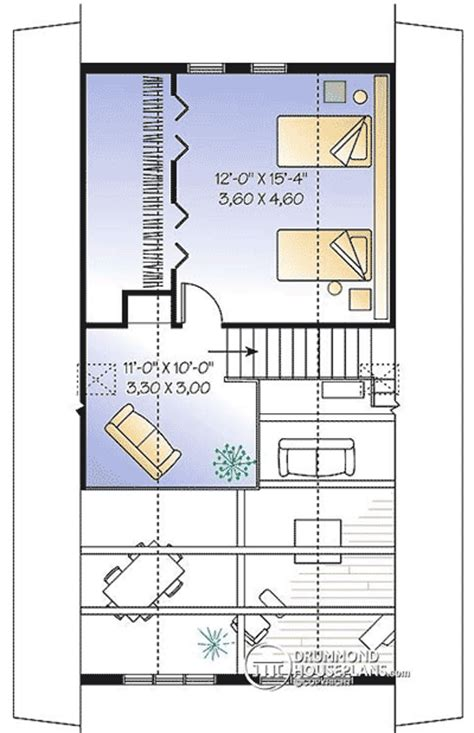 vacation home plans with loft vacation escape with sleeping loft 21076dr 1st floor