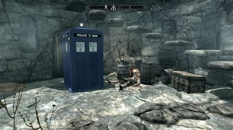 Best Mod Game Site | skyrim with mods best game ever doctor who tardis