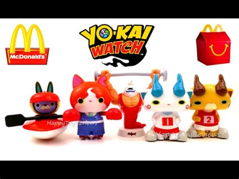 Yokai Orochi Happy Meal Mc Donald 2016 mcdonald s yo happy meal toys olympic complete set 6 meal toys