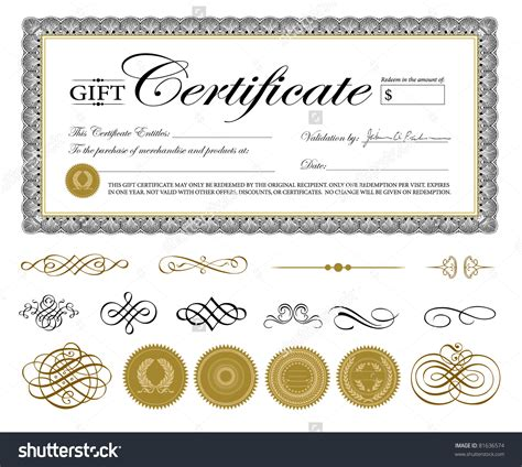 template of gift certificate gift certificate template fotolip rich image and