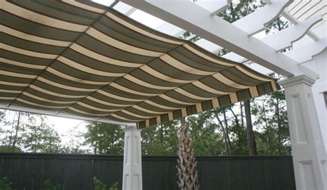 pergola canopies topside vs underside shade covers