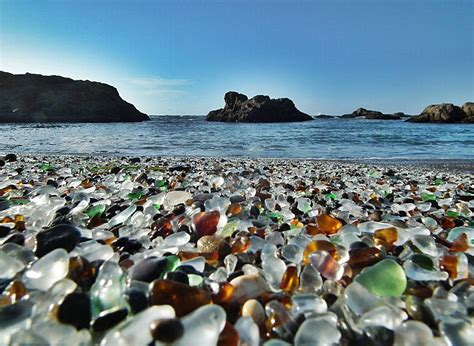 glass beaches another amazing collection of beautiful places and spaces