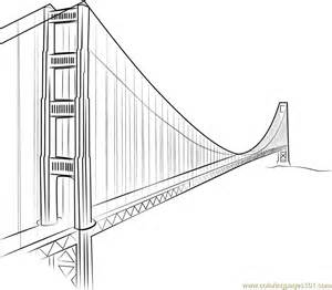 golden gate bridge yang ming line coloring page free