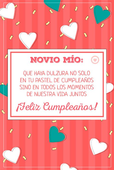 imagenes de cumpleaños para i novio bonita tarjeta de cumplea 241 os feliz para mi novio